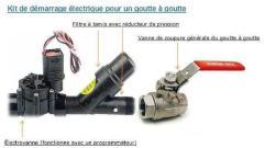 électrovanne+ filtre + vanne 1/4 tour