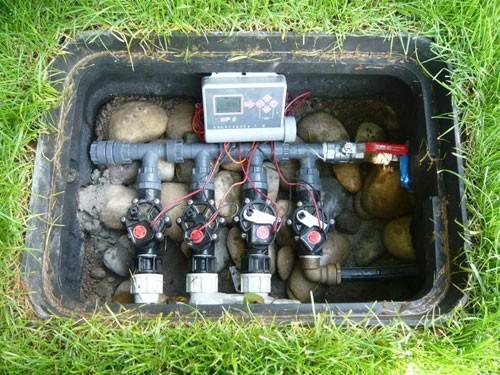 Installation d un r seau d irrigation la passion des for Arrosage automatique jardin