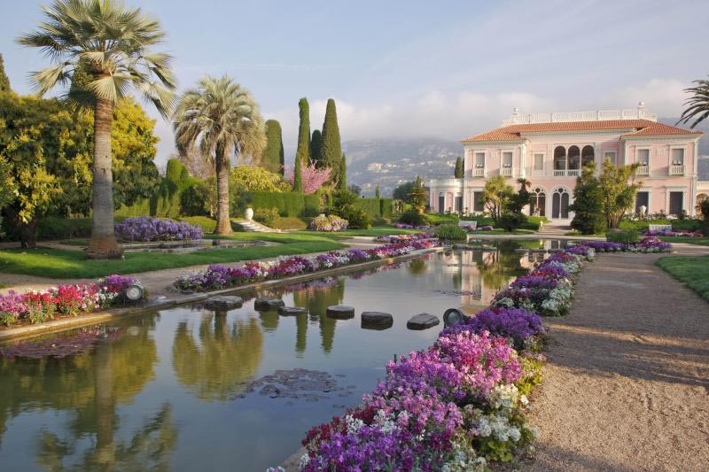 Alpes maritimes 06 la passion des jardins et de la nature for Jardin villa rothschild