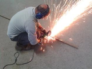 découpage des fers de tors