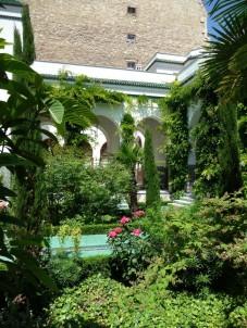 Jardin de la grande mosquée de Paris 2