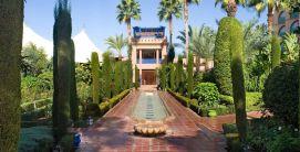 Jardin privée Marrakech