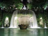 Jardin Tivoli à Rome