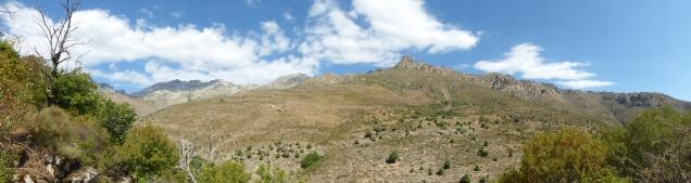 Le parc naturel régional de Corse autour du Monte Cinto