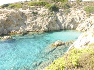 Ses eaux turquoises