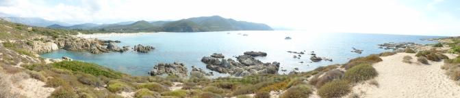 La plage de l'Ostriconi