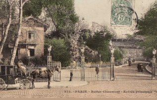 Parc des buttes chaumont paris la passion des jardins for Christophe chaumont