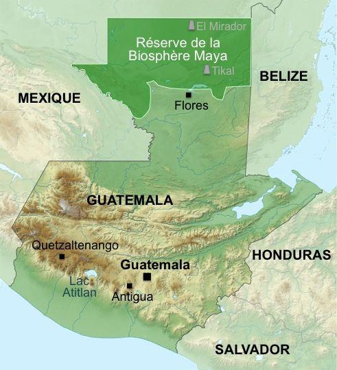 carte-guatemala-biosphere-maya1